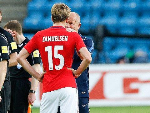 SKRYT: Per-Mathias Høgmo brukte positive ord om Martin Samuelsen.
