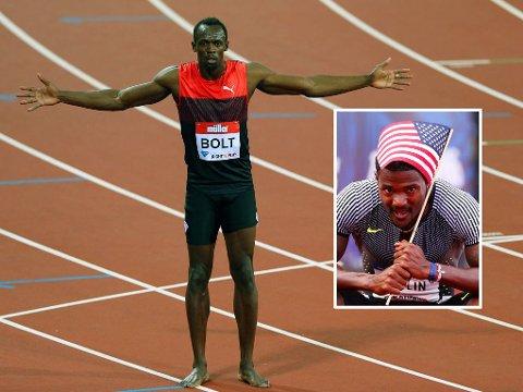 BEST, MEN IKKE I ÅR: Usain Bolt var tilbake i godt slag da han vant 200-meteren i London for et par uker siden. Justin Gatlin og landsmannen LaShawn Merritt er likevel årets raskeste på henholdsvis 100 og 200 meter.