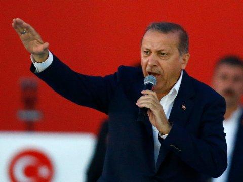 Tyske myndigheter mener Tyrkias politikk har gjort landet til et arnested for islamistgrupper.
