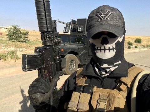 Norske «Mike» befinner seg nå i nærheten av IS-kontrollerte Mosul med den irakiske hæren.