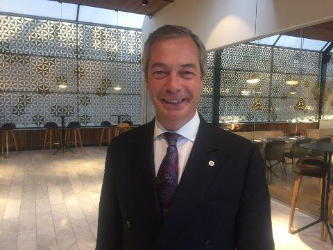 EU: Tidligere UKIP-leder Nigel Farage sto i spissen for britisk utmeldelse av EU: Han mener Norge er blitt lurt.