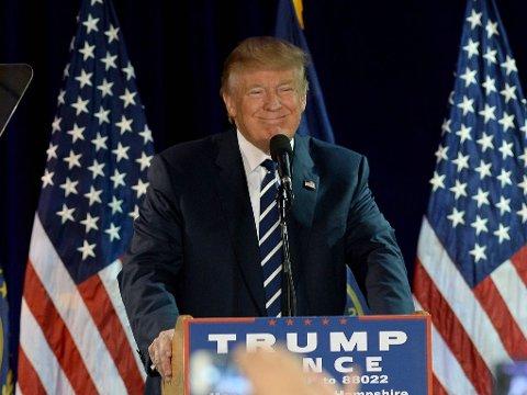 KANDIDAT: Republikanernes presidentkandidat Donald Trump.