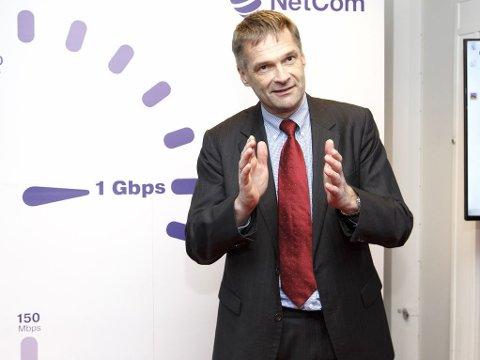 KJØPER PHONERO: Administrerende direktør for TeliaSonera Norge, Abraham Foss.