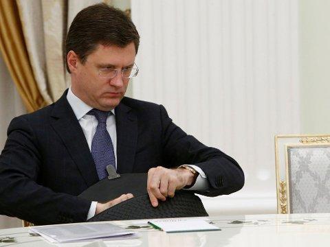 OLJEMØTE: Russlands energiminister Alexander Novak skal delta på oljetoppmøtet i Wien lørdag
