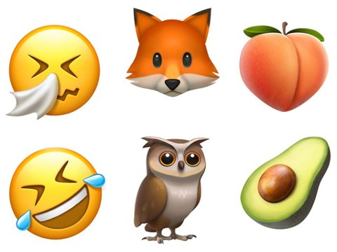 NYE: Med iOS 10.2 er det kommet flere hundre nye og redesignede emojier.