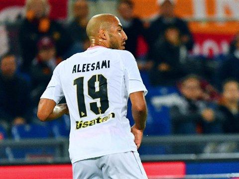 BITTERT: Palermo og Haitam Aleesami hadde tre poeng i lomma helt til overtida i et viktig oppgjør i Serie As nedrykkstrid. Dette bildet er fra en tidligere kamp.