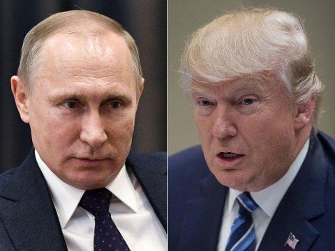 VIL MØTES: Russlands president Vladimir Putin ønsker å møte USAs president Donald Trump i Slovenia.
