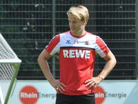 KÖLN: Bård Finne på trening for Köln. Det ble bare to kamper fra start i løpet av de to årene i bundesligaklubben for bergenseren.