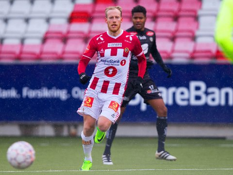 SENTRAL FIGUR: Gjermund Åsen var innblandet da Tromsø spilte ut Sogndal på en omgang. Foto: Audun Braastad / NTB scanpix