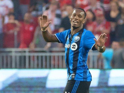 SLAPP AV, FOLKENS! Didier Drogba er ikke ferdig med fotballkarrieren helt ennå. Her i aksjon for Montreal Impact i fjor.