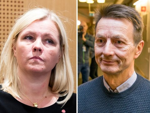 ÅPEN KONFLIKT: Leder for Ap-sekretariatet på Stortinget, Hans Kristian Amundsen, slutter i jobben og peker på vei ut på samarbeidsproblemer med Youngstorget og Arbeiderpartiets partisekretær Kjersti Stenseng.
