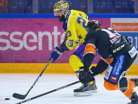 ENDELIG MESTER: Storhamar og den mangeårige profilen Christian Larrivée har brutt en barriere denne sesongen.