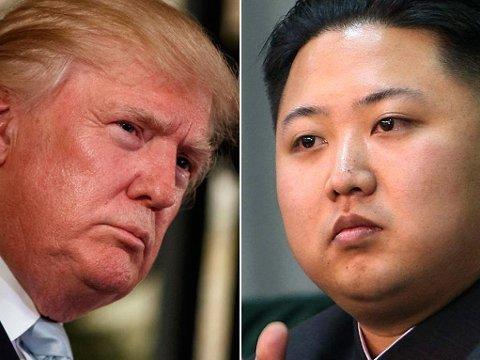 Verken USAs president Donald Trump eller Nord-Koreas leder Kim Jong-un har vært nådig i sin retorikk mot hverandre. Det er tilbakelagt - nå skal de møtes.