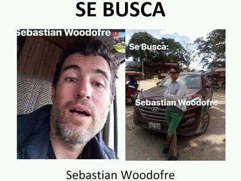 Kort tid etter drapet på en lokal sjaman i Peru, postet de pårørende en etterlysning på sosiale medier hvor de anklagde kanadieren Sebastian Woodroffe for å stå bak ugjerningen.