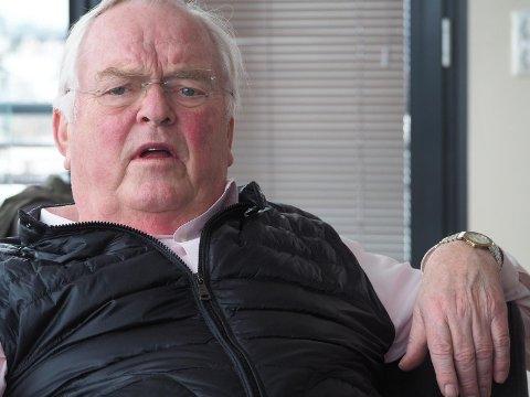 ALDRI TIL SKRAPING: Skipsreder Herbjørn Hansson sier at han i løpet av 37 år aldri har solgt et skip til skraping på strendene.