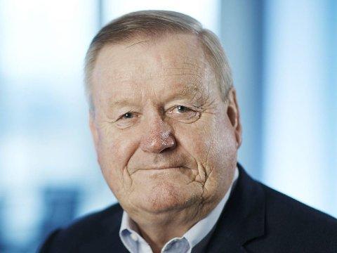 INNFORDRER BAGATELLFORDRINGER: Styreleder Baard Sigurd Bratsberg i Kredinor forklarer hvorfor det er viktig å gå til inkasso for 22 øre.