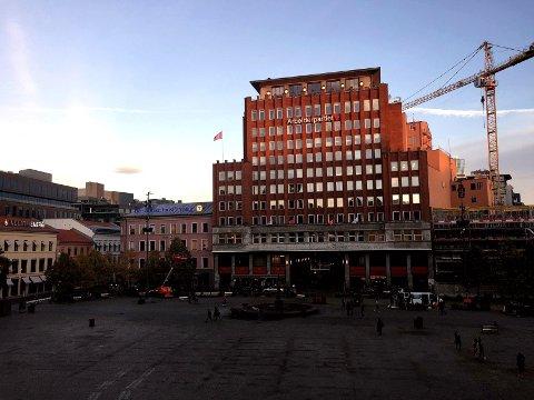 Arkivfoto av Youngtsorget i Oslo.