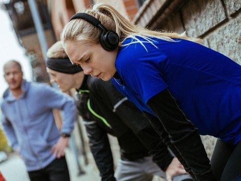 I GOD FORM: Løping er ikke nødvendigvis nok for å bli i god form, det er flere faktorer som spiller inn, ifølge forsker ved Norges Idrettshøgskole.