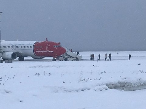 Trusselen mot Norwegian-flyet kom via selskapets chattekanal da flyet var på vei til Alta.