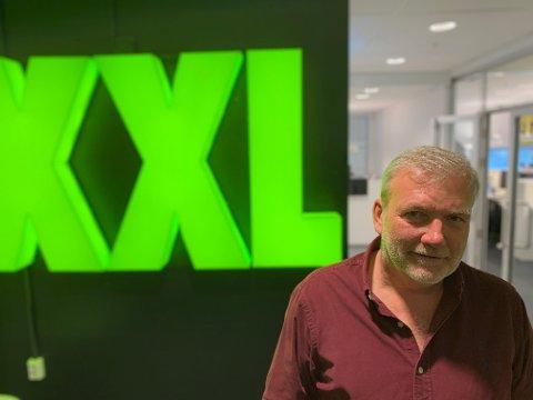 GRÜNDER: Øivind Tidemandsen er mannen bak XXL.