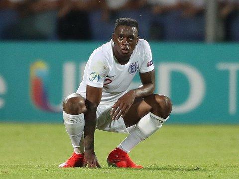KLAR: Aaron Wan-Bissaka, her i aksjon for Englands U21-lag, er klar for Manchester United.
