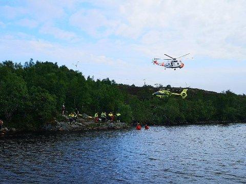 SENDT TIL SYKEHUS: Fredag 7. juni ble en ung gutt sendt til UNN i Tromsø med livstruende og kritiske skader etter en badeulykke i Madsvannet i Kabelvåg.