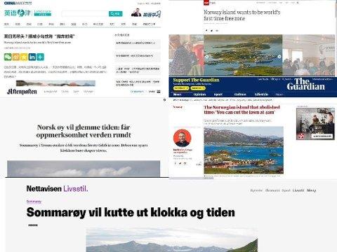Løgnen fra Innovasjon Norge ble sendt ut som pressemelding til medier i både inn-og utland.