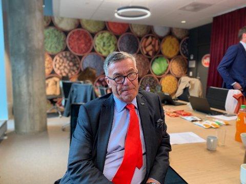 GÅR FORTSATT BRA: Orkla med styreformann Stein Erik Hagen i spissen leverer fortsatt bra resultater.