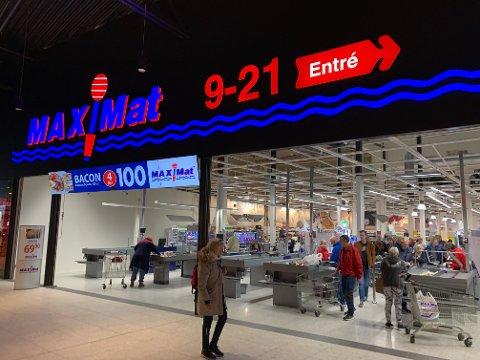 BILLIGERE: Det kan lønne seg å handle i Sverige, som her på Töcksfors shoppingcenter, hvis du vil spare penger.