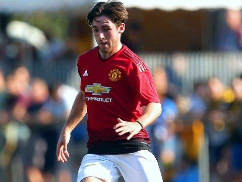 HAR LANDET I NORD: Aidan Barlow. Her i aksjon for Manchester United i UEFA Youth League i fjor høst.