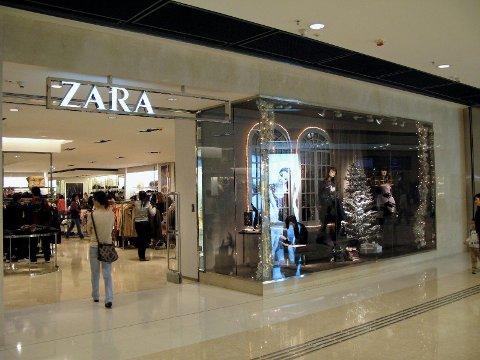 DUNDRENDE UNDERSKUDD: Zara Norge har gått med dundrende underskudd i Norge de to seneste årene og tapt nesten 100 millioner kroner.