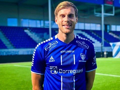 ENDA EN NYKOMMER: Niklas Gunnarsson er den siste i rekka av nye spillere hos nedrykkstrude Sarpsborg 08.