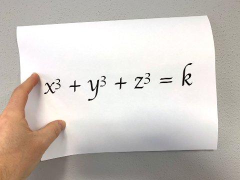 Svaret på et tilsynelatende enkelt mattespørsmål har viste seg å være ekstremt komplisert. Først nå ha to matematikere klart å løse tallgåten – ved hjelp av en halv million datamaskiner.