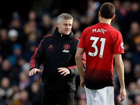 TAR GREPP Manchester United og manager Ole Gunnar Solskjær er ikke speseilt lystne på å la Nemanja Matic forlate klubben gratis.