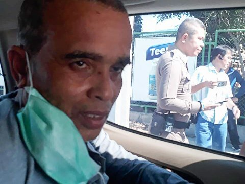 Politiet i Thailand pågrep den tidligere domfelte seriemorderen, Somkid Pumpuang, på en togstasjon i Nakhon Ratchasima-provinsen osdag.
