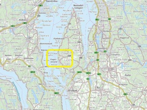 SAVNET: Fire barn var savnet fra en barnehage på Fagerstrand.