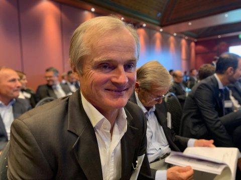 Øystein Stray Spetalen avbildet på Pareto-konferansen i 2019.