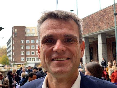 APPELLERER TIL GÅRDEIERNE: Finansbyråd Einar Wilhelmsen (MDG) har lite å gi til de som må betale eiendomsskatt.
