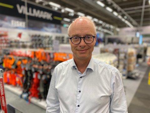 MOTIVASJON Konsernsjef Pål Wibe i XXL har 22 års erfaring fra retail-bransjen. Han er også levende engasjert i sport, og han mener det er viktig å jobbe med å motivere også de ansatte om XXL skal gå bra.