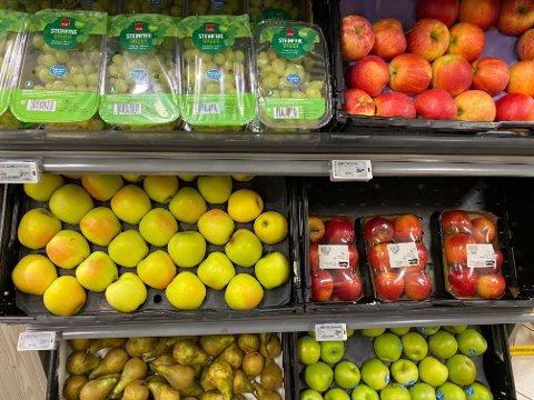 DROPPES: Flere norske ungdommer dropper frukt og grønt.