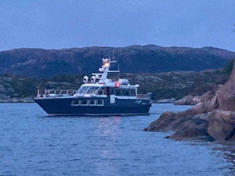 Redningsskøyta RS Utvær deltok i redningsaksjonen. Foto: Redningsselskapet / NTB