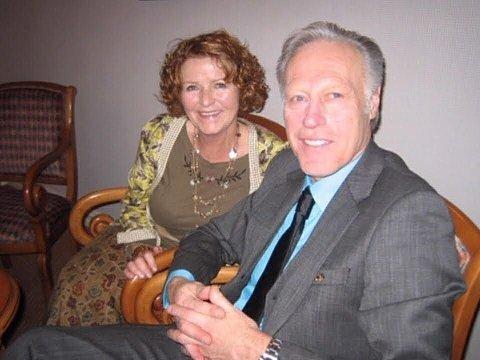 Anne-Elisabeth Hagen og Tom Hagen.