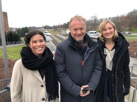 MILLIONÆRENE: Lan Marie Nguyen Berg (MDG), Raymond Johansen (Ap) og Inga Marte Thorkildsen (SV) helt til høyre. De tjener alle godt over en million i året, men er samtidig for «små forskjeller».