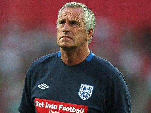 DØDE SØNDAG: Ray Clemence. Her avbildet i 2010, da han var keepertrener for Englands landslag.