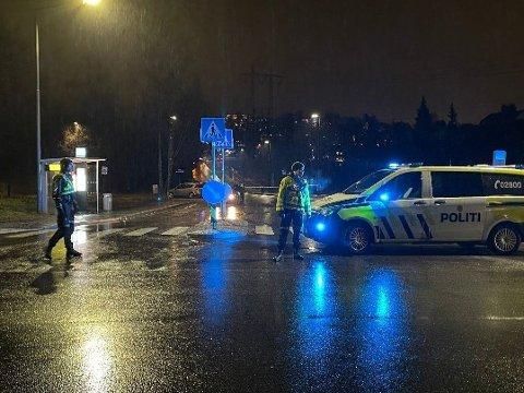 DØDE: Den 13 år gamle gutten som ble påkjørt på Haugenstua torsdag kveld ble bekreftet død dagen etter.