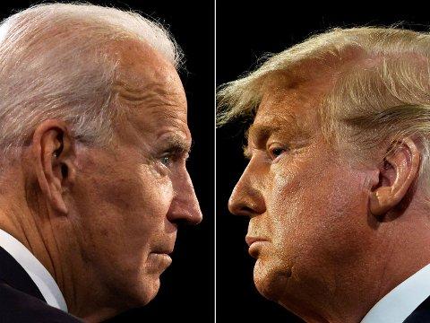 Om noen timer er Donald Trumps dager som president ved veis ende, og Joe Biden overtar roret i Det hvite hus.