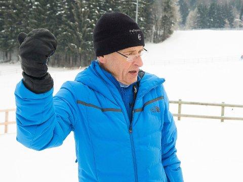 BLE KASETET UT: TV 2s Ernst A Lersveen. Her avbildet i 2018.
