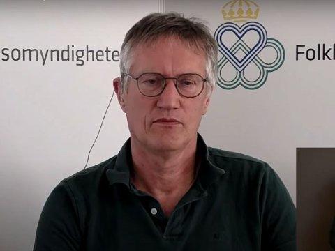 Anders Tegnell, statsepidemiolog i Sverige.