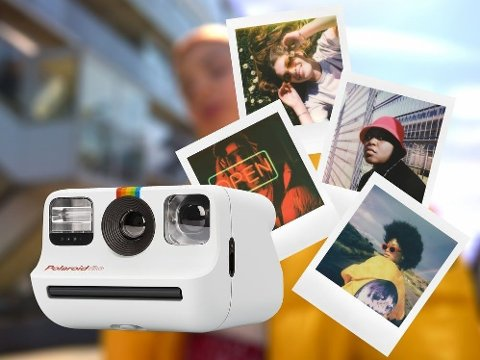 Ta frem et polaroidkamera på fest, på ferie eller rett og slett for å dokumentere hverdagsøyeblikkene.
