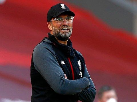 KJENNER SEG IKKE IGJEN: Jürgen Klopp mener tidligere Liverpool-spiller Ragnar Klavan må ha misforstått fullstendig da han trodde manageren var i ferd med å havne i håndgemeng med en av sine egne spillere.